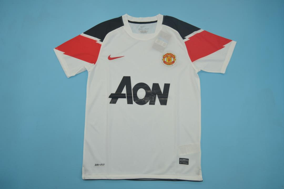 AAA Quality Manchester Utd 10/11 Away White Jersey