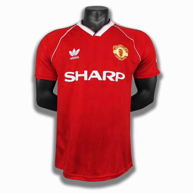 AAA Quality Manchester Utd 88/90 Home Soccer Jersey