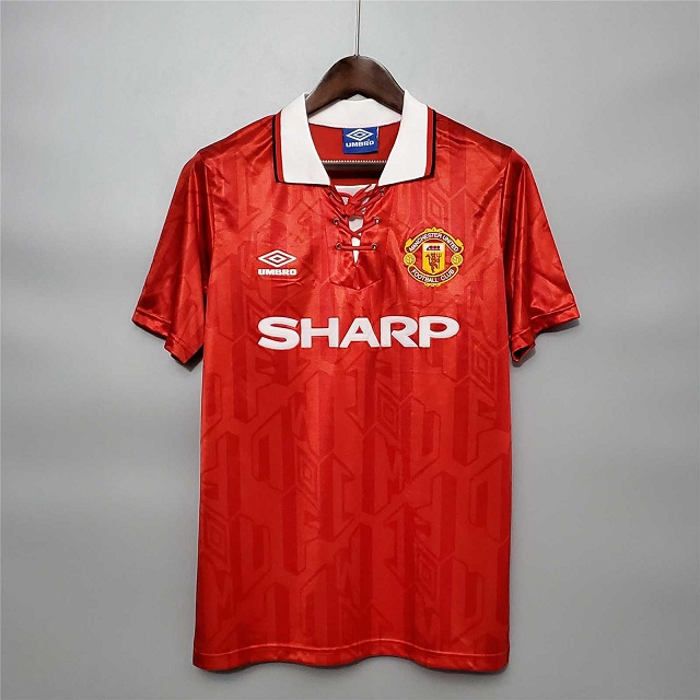 AAA Quality Manchester Utd 93/94 Home Soccer Jersey