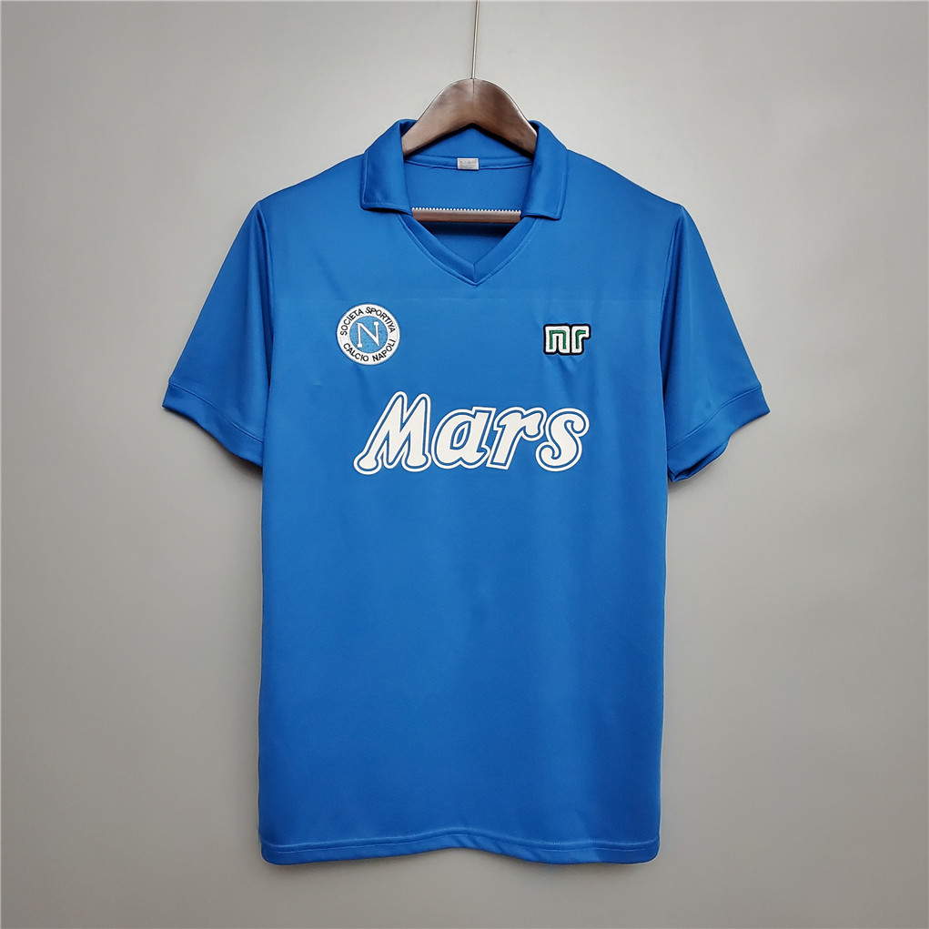 AAA Quality Napoli 88/89 Home Soccer Jersey