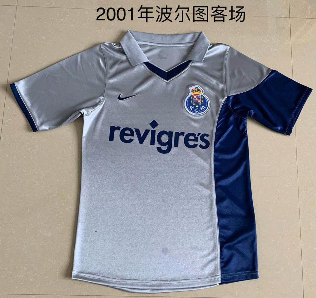 AAA Quality Porto 00/01 Away Soccer Jersey