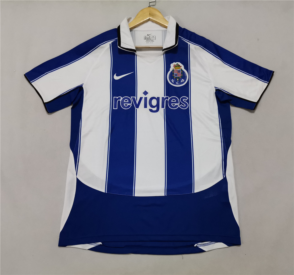 AAA Quality Porto 03/04 Home Soccer Jersey