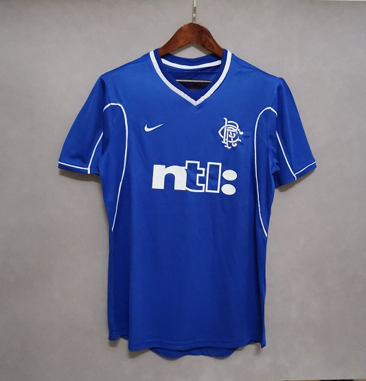 AAA Quality Rangers 99/01 Home Soccer Jersey