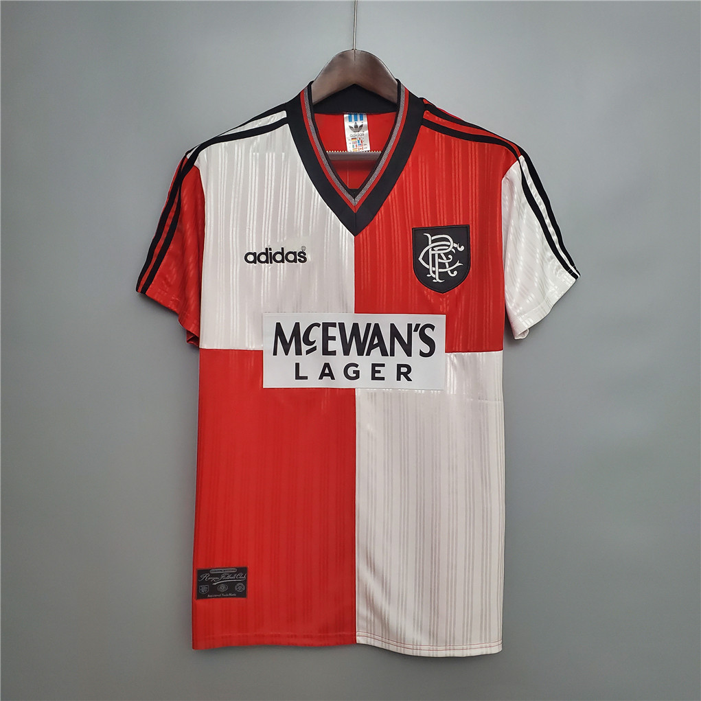 AAA Quality Rangers 95/96 Away Soccer Jersey