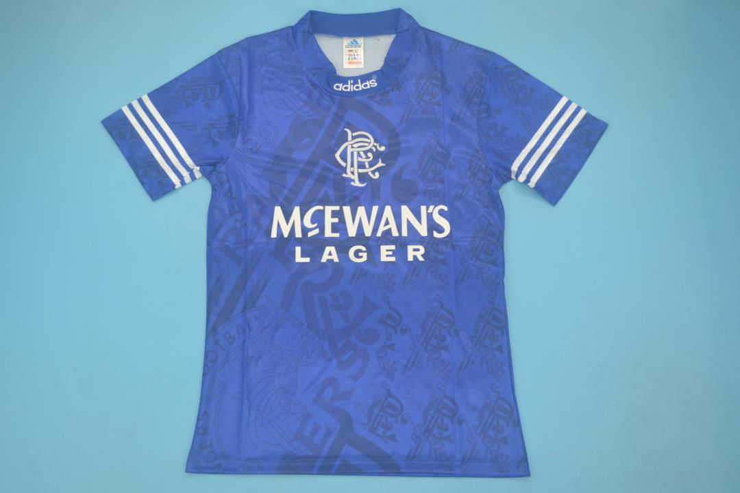 AAA Quality Rangers 94/96 Home Soccer Jersey