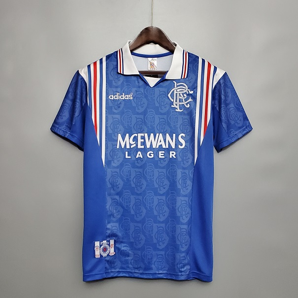 AAA Quality Rangers 96/97 Home Soccer Jersey