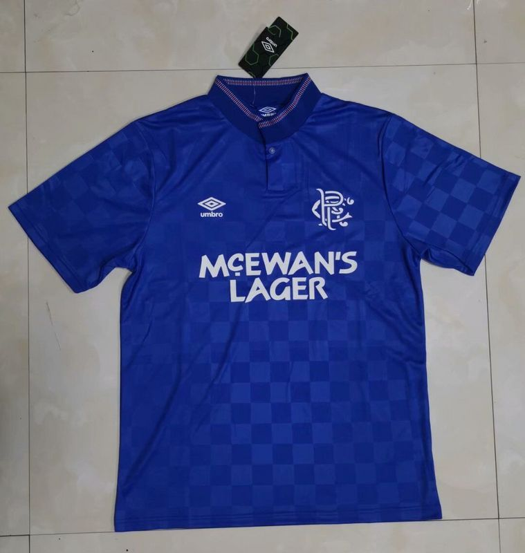 AAA Quality Rangers 97/98 Home Soccer Jersey