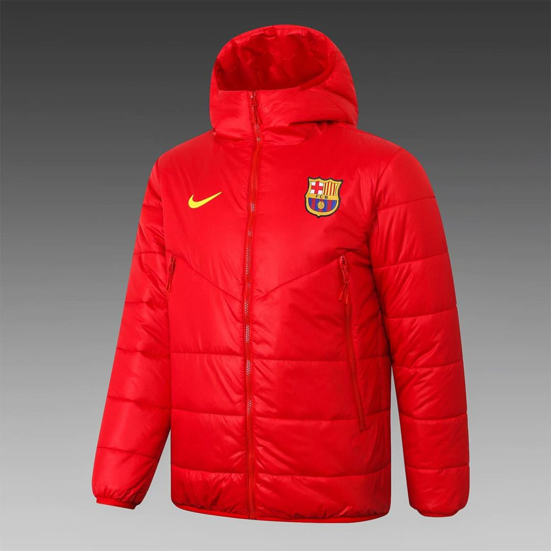 AAA Quality Barcelona 20/21 Cotton Coat - Red