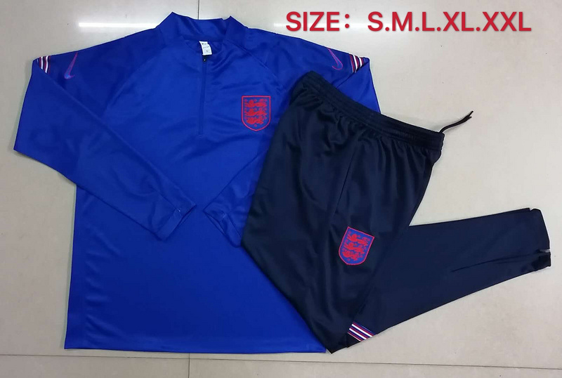 AAA Quality England 2020 Tracksuit - Blue 2
