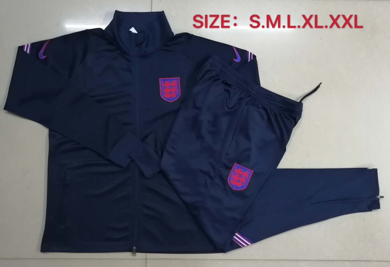 AAA Quality England 2020 Tracksuit - Black