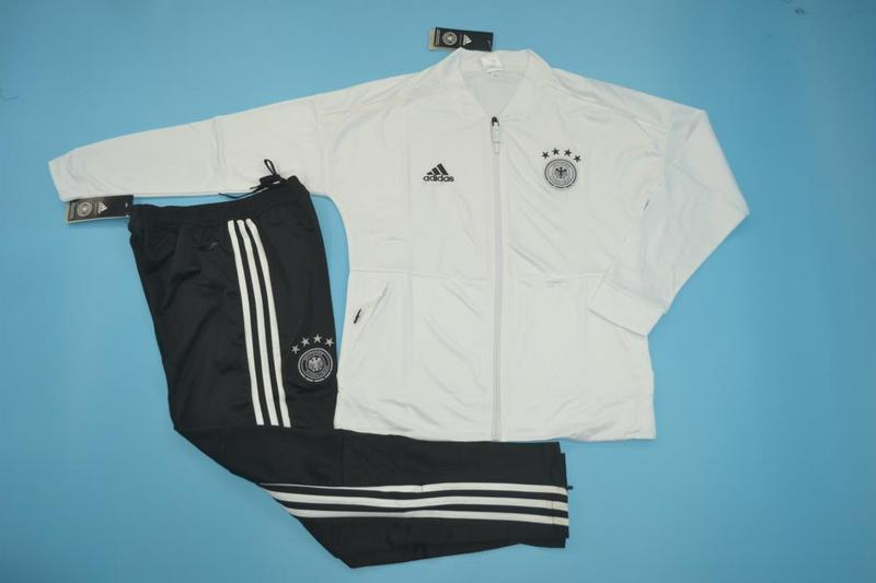 AAA Quality Germany 18/19 Tracksuit - White