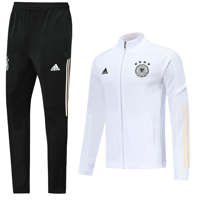 AAA Quality Germany 2020 Tracksuit - White