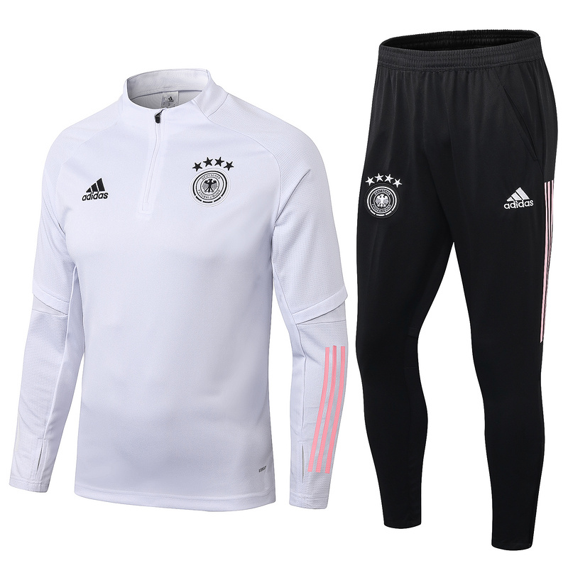 AAA Quality Germany 2020 Tracksuit - White 2