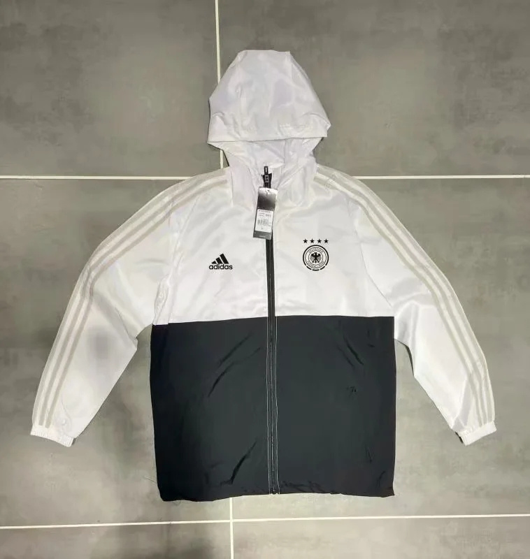 AAA Quality Germany 2020 Wind Coat - Black/White