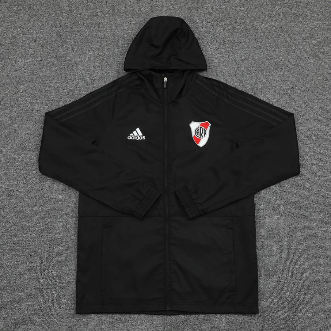 AAA Quality River Plate 20/21 Wind Coat - Black