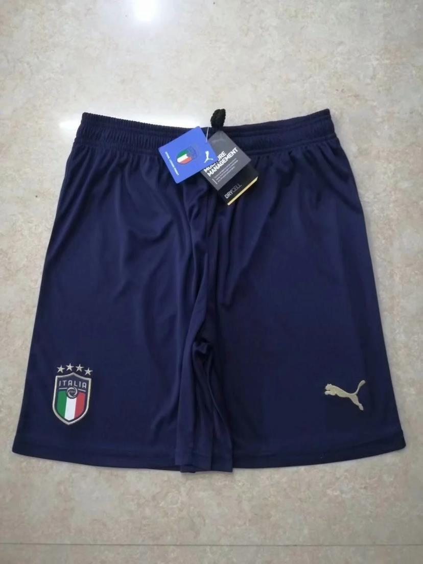 AAA Quality Italy 2020 European Cup Away Soccer Shorts